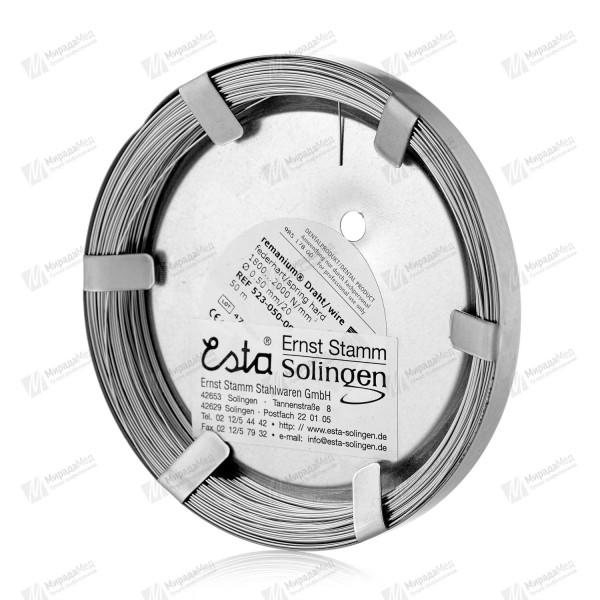 Проволока в рулоне 50 м   (0.5 мм)   ESTA SOLINGEN