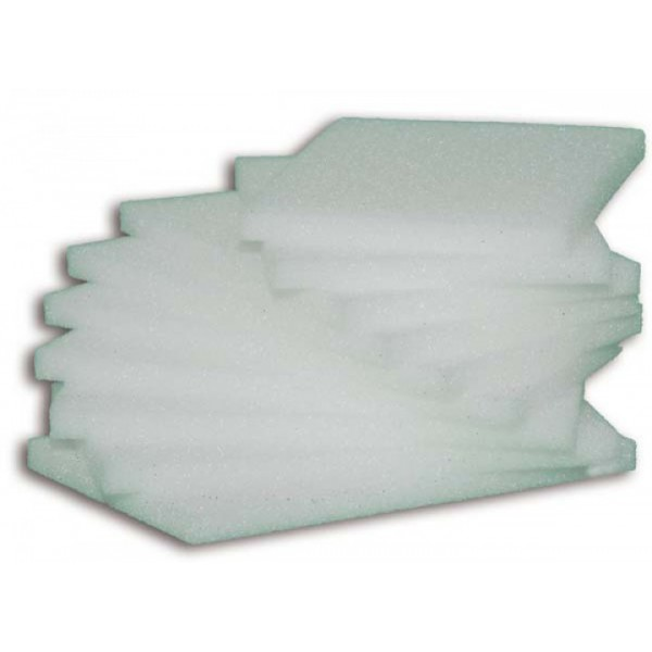 LIGASANO Лигазан белый (не стерильный) 24х16х2 см (5 пластин)