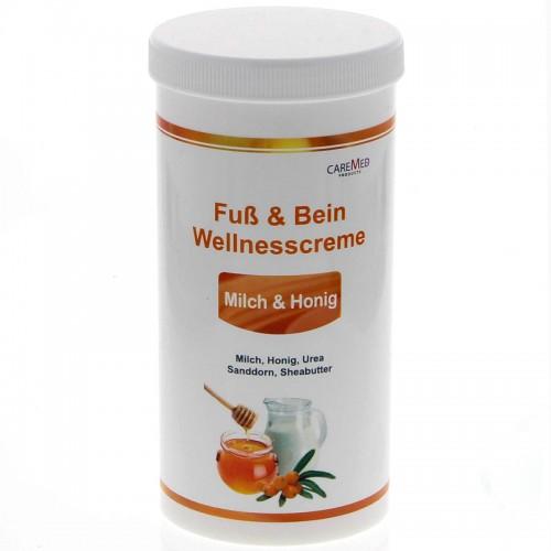 Крем для ног и тела CareMed Fuss & Bein Wellnesscreme 450  мл