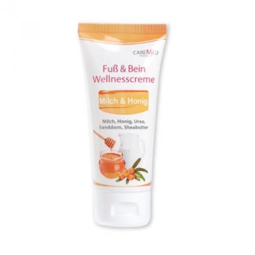 Крем для ног и тела CareMed Fuss & Bein Wellnesscreme 50  мл