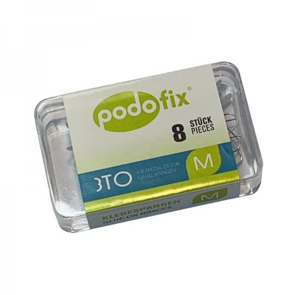 Podofix пластины М  8 шт  набор  включая спиртовые салфетки